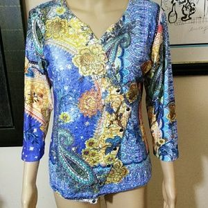 Impulse California sequined top